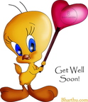 Get Well soon Tweety