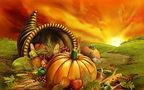 thanksgiving-cornucopia-sunrise