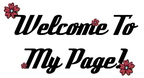 welcome to my page comment graphics 2728038dnkso0ccn7