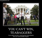Teabaggers Cant Win